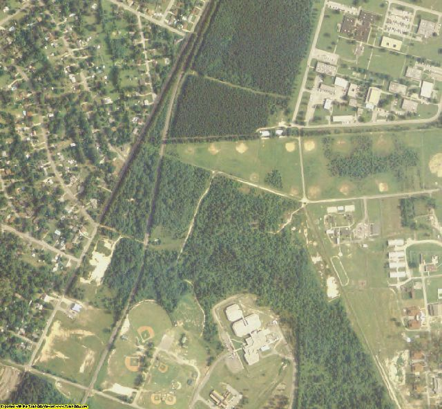 Richmond County, GA aerial imagery zoomed in! This shows the level of ...