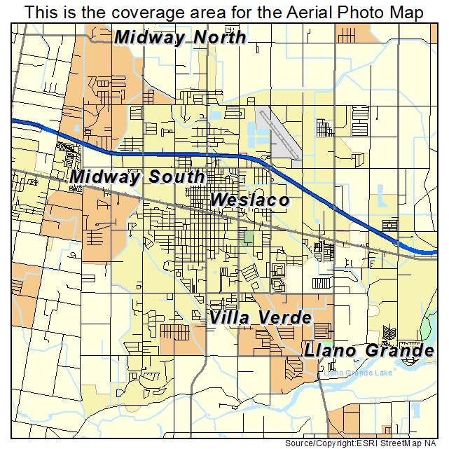 Weslaco Texas Map Weslaco Texas Map